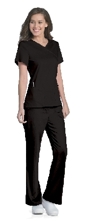 An image of Sophie Crossover Top Black XS