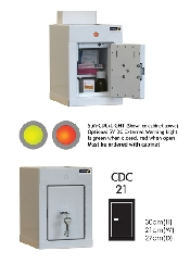 An image of Controlled Drug Cabinet CDC 30(H) 21(W) 27(D) cm (1 shelf)