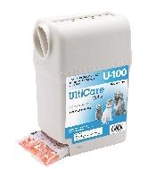 An image of Ulticare Insulin Syringe U40 0.5ml 29G (100) (box)