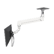 An image of Elite Series Ceiling Mount 5'' Medical White With Handle