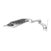 An image of Ultra Series Keyboard Wall Mount Long Reach Medical White
