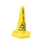 An image of Caution Wet Floor Sign - Cone