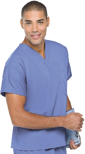 An image of Unisex Scrub Top Ceil XS