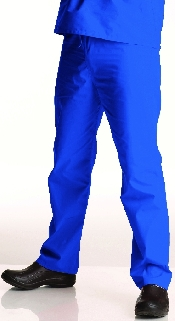 An image of Unisex Scrub Pant Royal Blue M