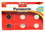 An image of Panasonic CR2032 (6pcs) 3V L