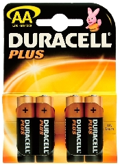 An image of Duracell Plus AA BL4  (4)