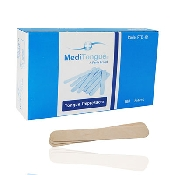 An image of Wooden Tongue Depressors Non Sterile 100 Pieces