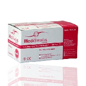 An image of MediSwabs Alco Swab-Skin Cleansing Wipes 100 Pieces Per Box