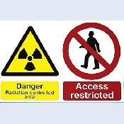 An image of WSR1 Rigid PVC Warning Sign