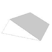 An image of Multi-Angle Wedge; 30x60&90 Deg 25x60x18cm