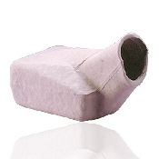 An image of Disposable Pulp Male Urinal (100Pcs)