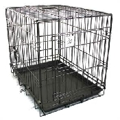 An image of Dog Crate with Double Door