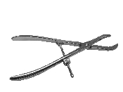 An image of Bone Holding & Reduction Forceps 12.5cm (Curved)