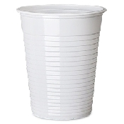 An image of PLASTIC DISPOSABLE BEAKERS 180ML 3000 PACK WHITE
