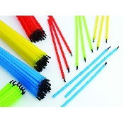 An image of DISC BENDY BRUSH APPLICATORS - ASSORTED X 144