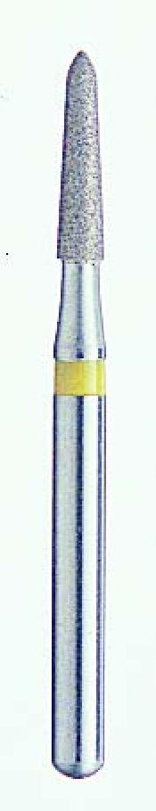 An image of BLU WHITE DIAMOND ROUND END TAPER BURS FG 4062