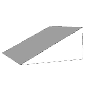 An image of Cardiac Wedge (for AP projections) 28Deg