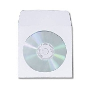 An image of Paper CD Sleeves with Window X 50