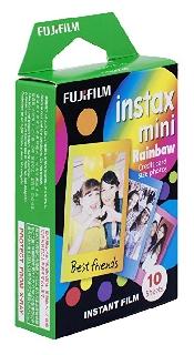An image of Instax Mini Film Rainbow (10 Pack)