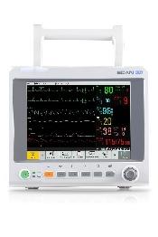 "An image of EDAN iM60Vet Touch Screen 10.1"" LCD G2 Copnograph 5 lead ECGRESNIBPPRSp02 & Temp"