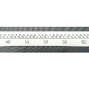 An image of Radiopaque Rule 100cm Long x 5cm Wide