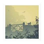 An image of Art Hound Pet Cards - Cat Getaway x 25