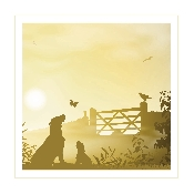 An image of Art Hound Pet Cards - Dog Getaway x 25