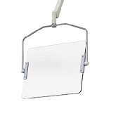 An image of Overhead Susp. Shields Wide Ceiling Mounted 351