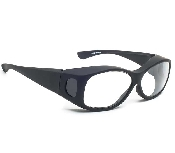 An image of Black Fitover Glasses - No Fog - Plano