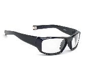 An image of Sport Wrap Leaded Glasses Black or Tortoise  - Plano