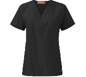 An image of Unisex V-neck Reversible Scrub Top (Easiephit)