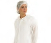 An image of Lab Coat White