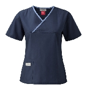 An image of Urbane Scrubs Navy/Ceil Blue