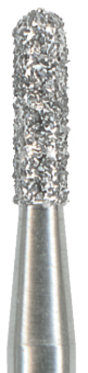An image of Diamond Burs 838 Round End Cylinder Medium Size 012