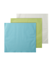An image of HEADREST COVER MONOART GREEN/BLUE