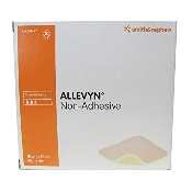 An image of Allevyn Wound Dressing - Non Adhesive 10 x 10cm (10)