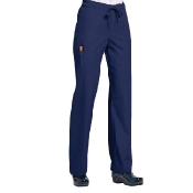 An image of Orange Standard Unisex Huntington Trousers Navy Regular Small