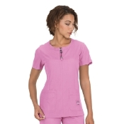 An image of KOI Lite Sernetity Top Light Orchid  M
