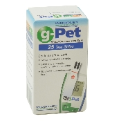 An image of Woodley g-Pet Blood Glucose Test Strips (1 x 25)