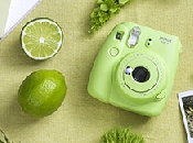 An image of INSTAX MINI 9 LIME GREEN PLUS 10 SHOTS