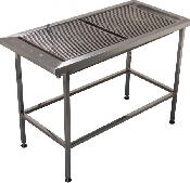 An image of Prep Tub Table Stainless Low Profile