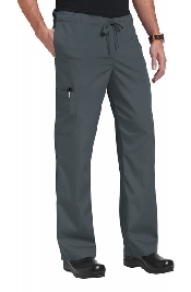 An image of Orange Standard Unisex Huntington Trousers Charcoal Medium Short