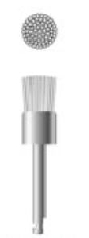 An image of Prophy Pencil Brush One knot White Nylon RA