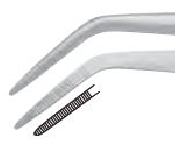 "An image of Tweezer ""College"" serrated 16 cm"