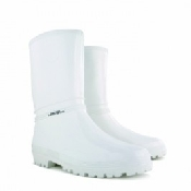 An image of Womens Surgical Wellies Calf Length White Size 4/5