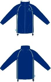 An image of G-Force Unisex Fleece Navy ISCP Logo (XS) (ISCP207XS)