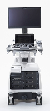 An image of Hitachi Lisendo 880 Premium Cardiovasular Ultrasound Diagnostic System