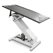 An image of Purfect S/S Table Hydraulic Flat Top & Z Frame 130 x 60cm
