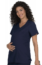 An image of Koi Lite Destiny Maternity Top Medium (Navy)