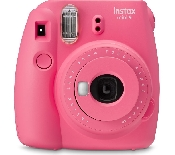 An image of INSTAX MINI 9 FLAMINGO PINK PLUS 10 SHOTS
